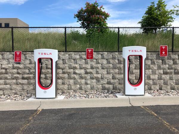 Estaciones de carga Tesla