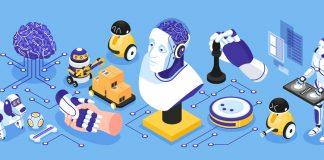 Artificial Intelligence Narrow Illustration
