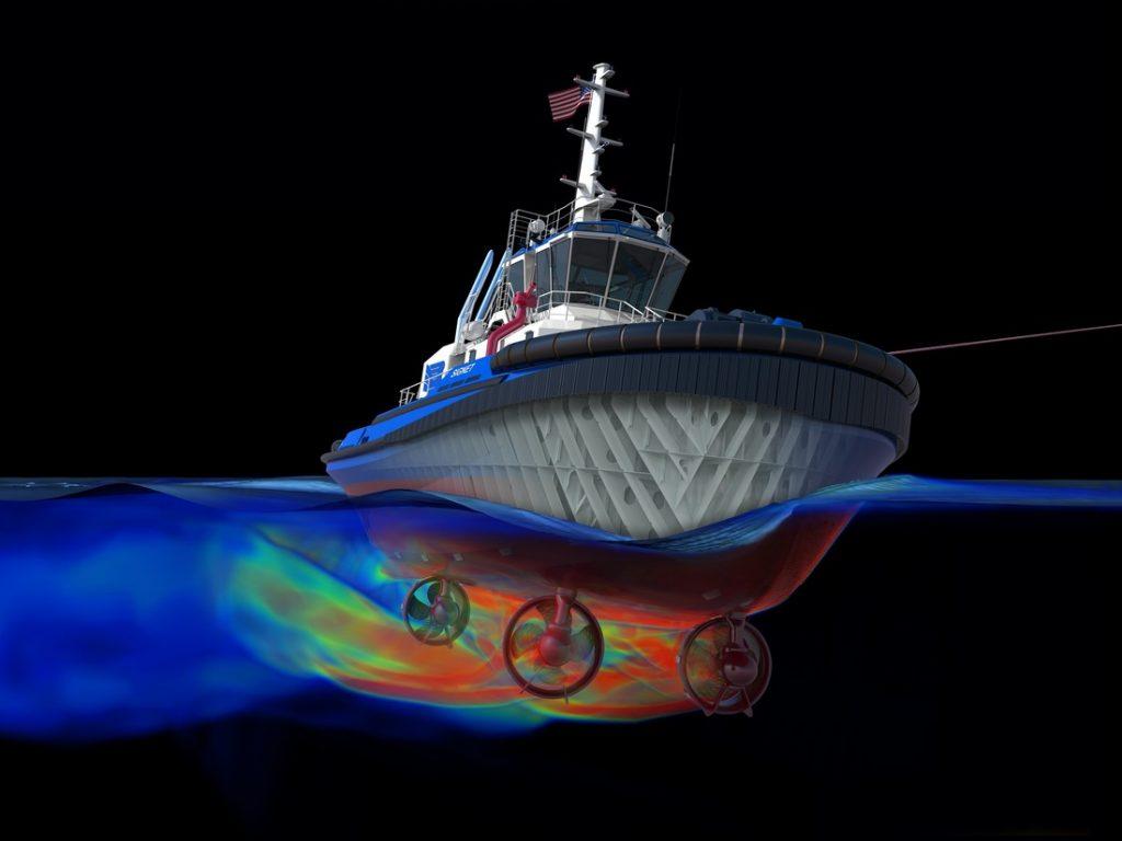 El primer navío de índole comercial completamente 3D