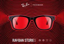 Facebook y Ray-ban crean gafas inteligentes